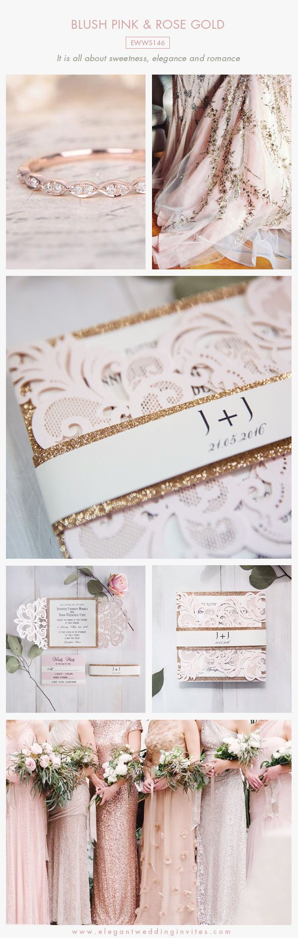 150 Best Blush Pink Weddings Images On Pinterest Color Scheme