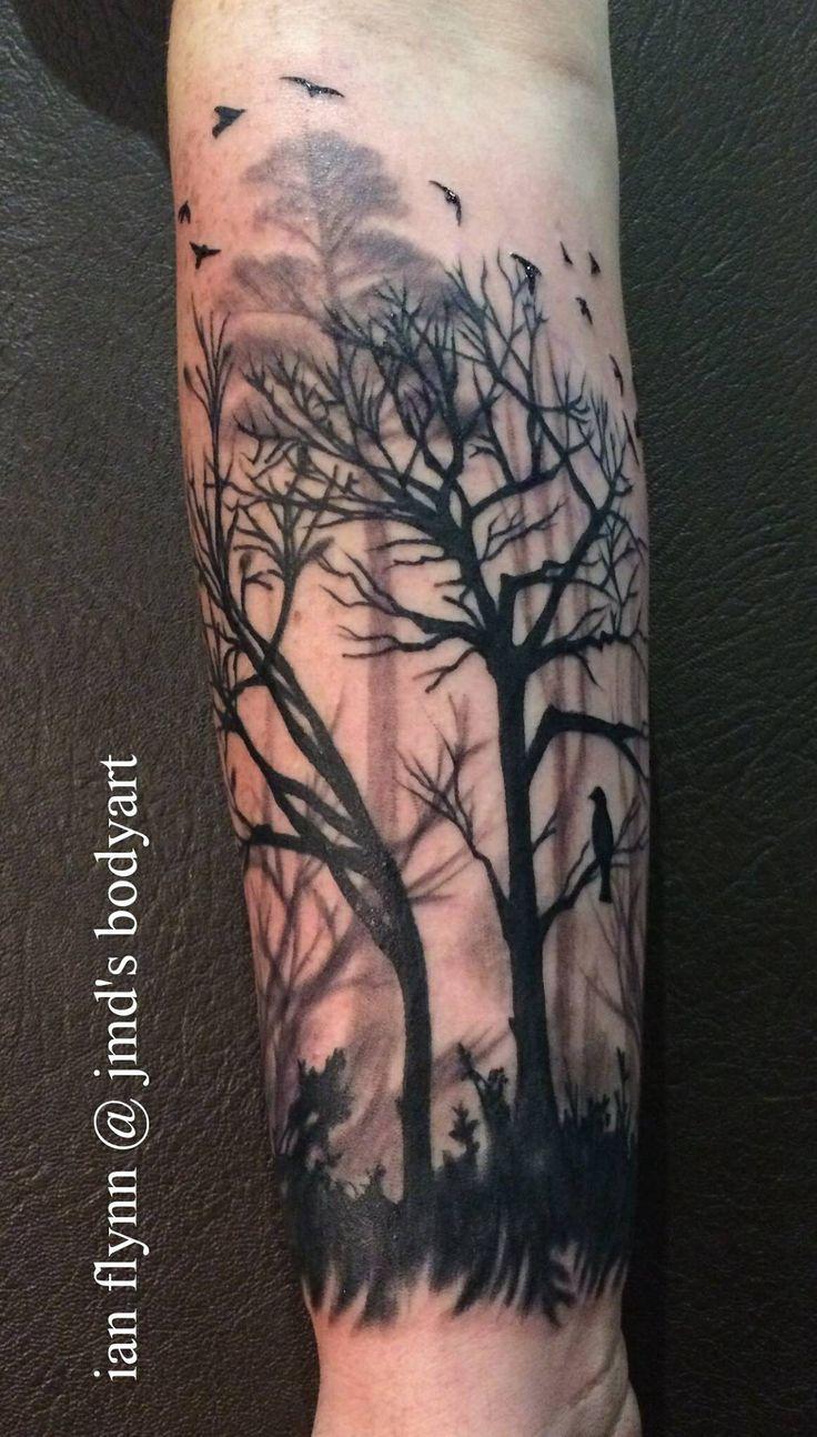 tattoo de arbol en el brazo - Buscar con Google