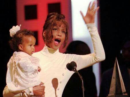 Whitney Houston and Princess Bobbi Kristina Brown