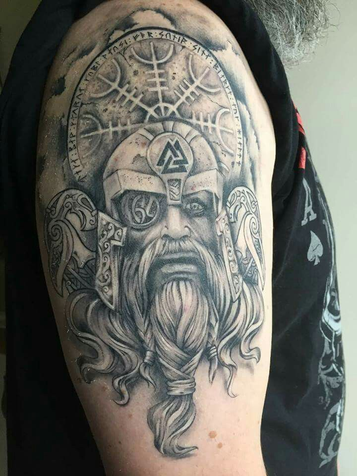 Viking tattoo | Tattoo Ideas for Brian | Viking tattoos ...