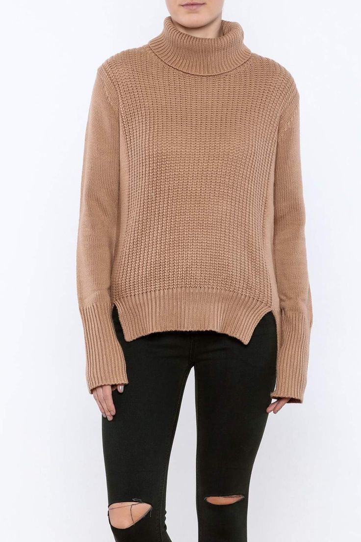Stay toasty in our must-have fall cowl-neck sweater. Long enough in length to wear over leggings for a cozy lounge day or pair with jeans for casual look.   Cowl Neck Sweater by Cotton Candy. Clothing - Sweaters - Cowl Neck New Jersey