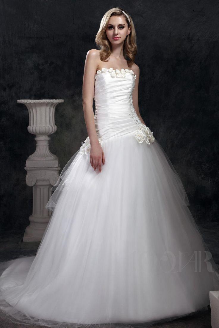 ثوب الكرة الرائعة مصلى حمالة قطار داشا في فستان الزفاف فساتين زفاف٢٠١٤