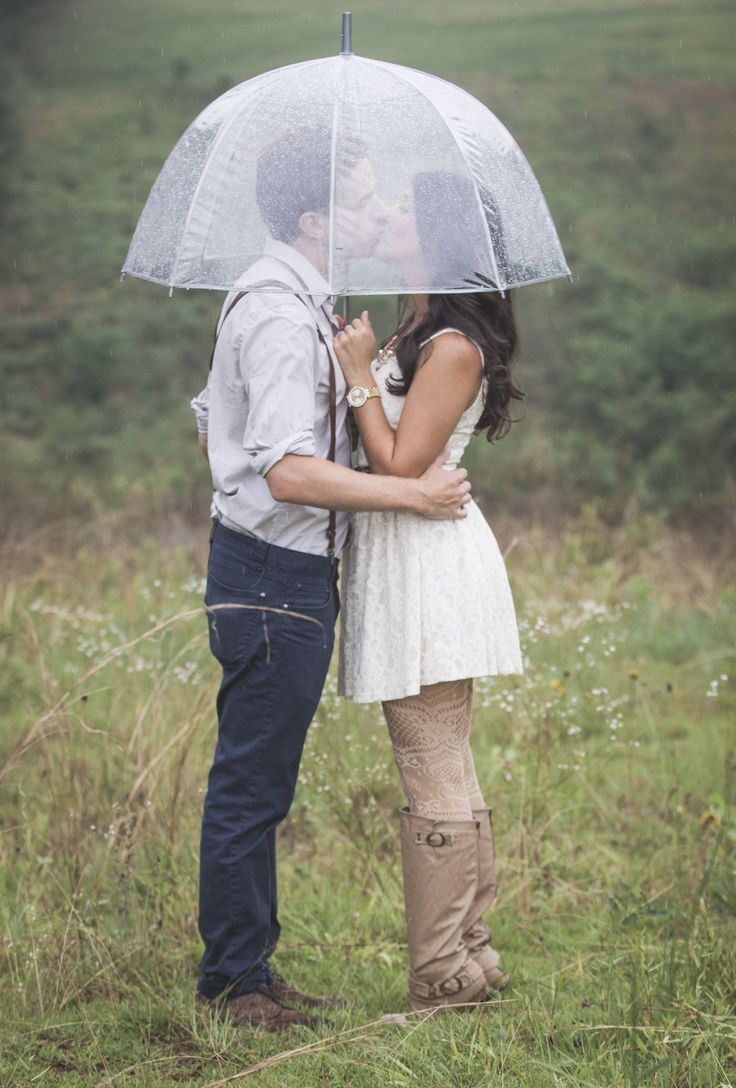 A kiss in the rain love cute couples kiss rain outdoors autumn
