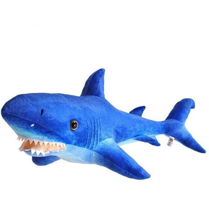Soft Shark Whale Plush Toy Big Blue Shark /Whale Pillow Aquarium Gift Whale Creative Doll