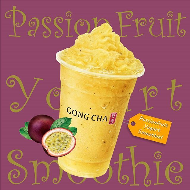 Have a Passionate Summer! Try our new Passion Fruit Yogurt Smoothie! 😍  We just introduced five delicious yogurt fruit smoothies for summer and they are simply refreshing and FAB-U-LOUS! The other four include Lychee, Lemon, Mango, and Peach.  The fab five are available at all Gong Cha California locations.  #gotgongcha #montereylocals #pacificgrovelocals- posted by Gong Cha USA CA https://www.instagram.com/gongchausaca. See more of Pacific Grove, CA at http://pacificgrovelocals.com