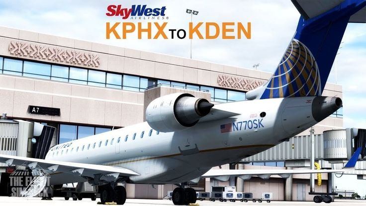 The Aerosoft CRJ-700/900 is finally here! Watch as we take it out on a test flight from Phoenix Skyharbor International airport to Denver International via Skywest flight number 5802.