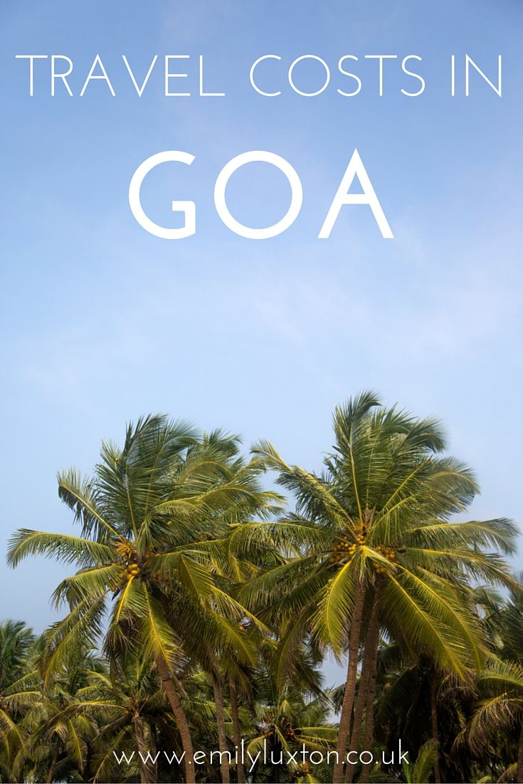 Travel Costs in Goa - What Things Cost in India
