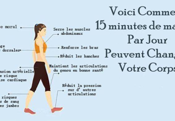 7 Bienfaits incontournables de 15 minutes de marche quotidienne…