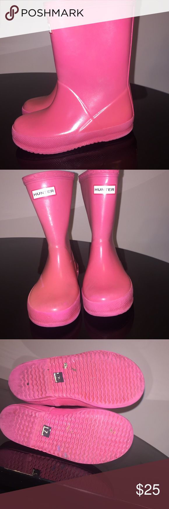 Kids rain Kids hunter rain boots size 7 for sale in very good condition very comfortable Hunter Boots Shoes Rain & Snow Boots