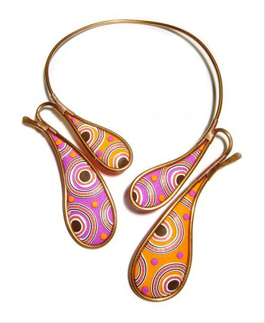 Necklace by OLIMPIA CORVINO | Polymer Clay Planet