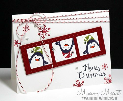 Mama Mo Stamps: Christmas Cards for Kids