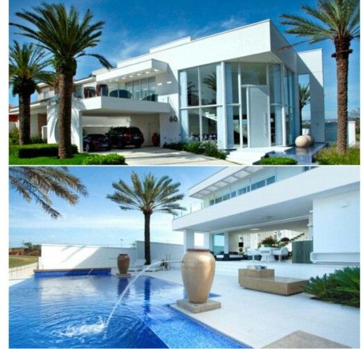 Beautiful mansion dream homes pinterest for Beautiful modern mansions