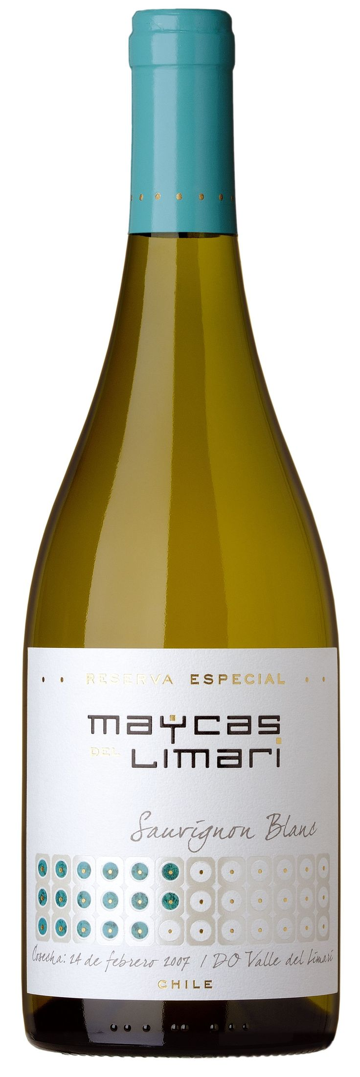 Maycas del Limarí, Sauvignon Blanc, Chile Wine packaging
