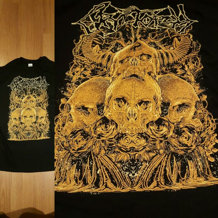 Brand new Cryptopsy Canadian Assault 2015 tour tees by Band-Brand!