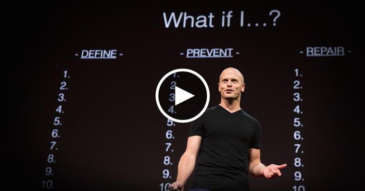Tim Ferriss: Why you should define your fears instead of your goals | TED Talk | TED.com