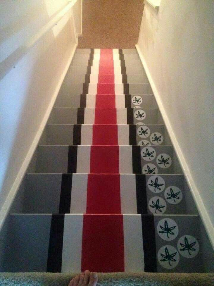 95 best landon images on pinterest house decorations With best brand of paint for kitchen cabinets with ohio state buckeye stickers