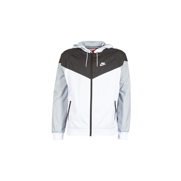 Nike WINDRUNNER Windbreakers ($92) ❤ liked on Polyvore featuring men's fashion, men's clothing, men's activewear, men's activewear jackets, grey and nike