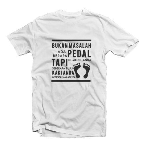 Pedal Kaki oleh zeroalfa clothing