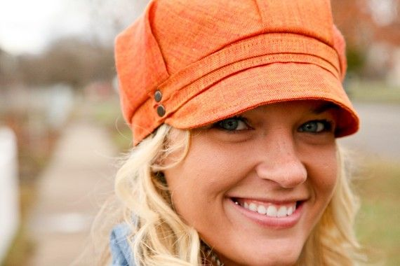 orange engineers cap for winter. I'm a terrible hat person but I may be able to pull this one off!