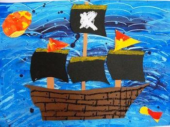 * Pirate Crafts!