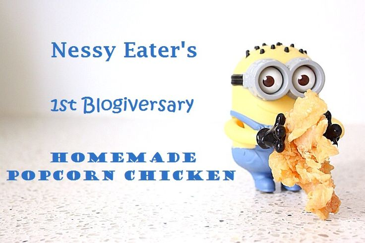 Admit it, whilst watching a movie at home you'd rather eat popcorn chicken then ordinary popcorn, right? Well at least I do. [NEW POST] on Nessy Eater - Homemade Popcorn Chicken from SCRATCH- It's SUPER EASY and ONLY 8 STEPS.   http://nessyeater.wordpress.com/