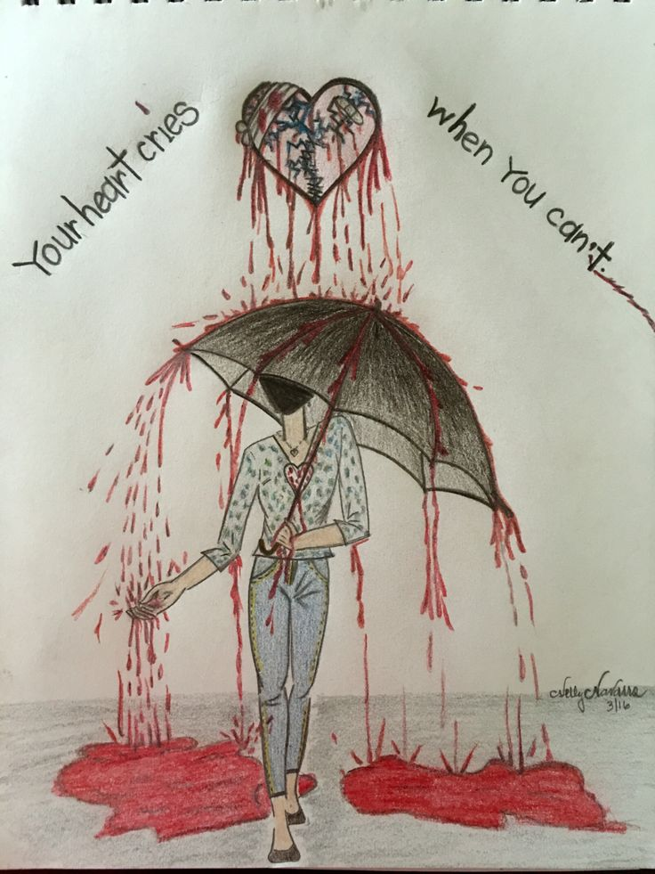 17 Best Ideas About Broken Heart Drawings On Pinterest