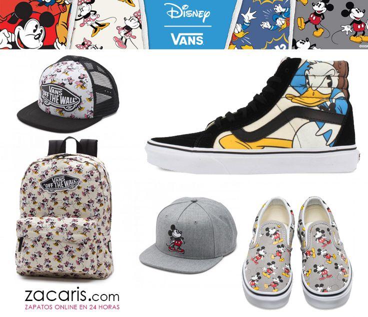 Descubre la nueva colección #Disney de #Vans para #niños #mujer #hombre https://www.zacaris.com/vans.htm