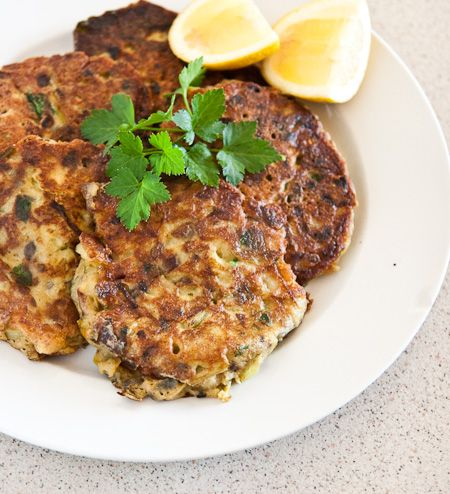 Ottolenghi's leek fritters - what's not to like?!