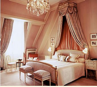 Dusty Pink Walls · Rose BedroomParis ...