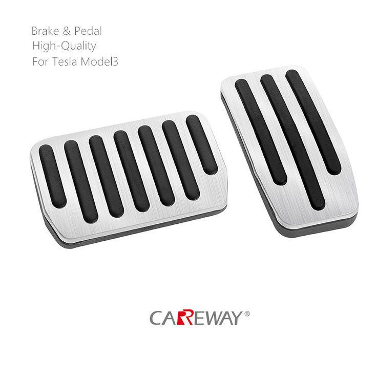 Tesla Model3 Accelerator Foot Pedal Brake Aluminum(3PCS ...