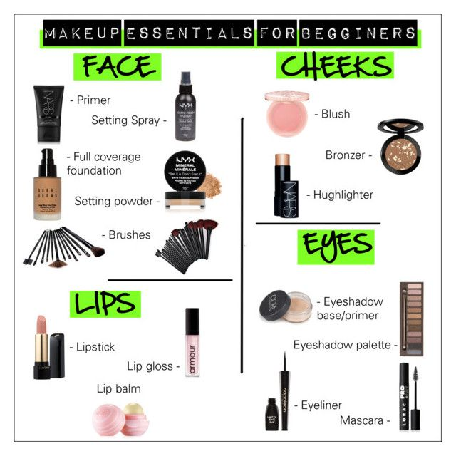 Makeup essentials for beginners schminke freundin und for Minimalismus liste