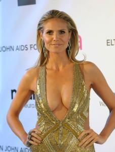 Heidi Klum still dropping it like it's hot at 40