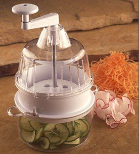 Win this 'RAW' Veggie Pasta maker. Makes great tasting 'angel hair' style pasta out of zucchini and other raw veggies. Give Away open, now through March 21st!