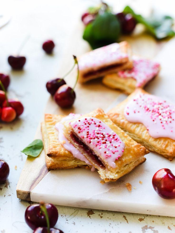Homemade Cherry Pop Tarts   Recipe   Pop tarts, Cherry ...