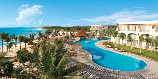 All-inclusive, 4 Nights with Air from $779 at Dreams Tulum Resort & Spa in Riviera Maya #CheapCaribbean #Beach #Vacation