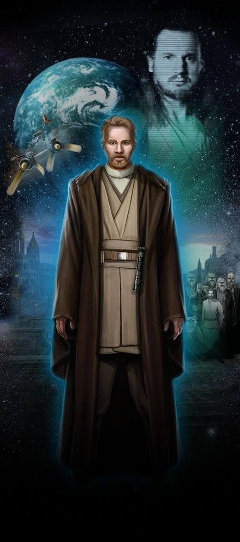 Je viens tout juste de visiter STAR WARS Identities : L'Exposition. Fais connaissance avec mon Héros Star Wars,  Luke, un Humain chevalier Jedi de Naboo!