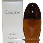 Obsession by Calvin Klein for Women, Eau De Parfum Spray, 3.4  Fluid Ounce.    Obsession perfume by Calvin Klein was launched in the spring of 1985. Obsession Calvin Klein signifies true sensuality with the essence of mandarin, bergamot, and peach. Obsession perfume is enveloped with hints of lemon, jasmine, and oak moss. Combine this fragrance with the shower gel, body lotion, deodorant, and talc for a deeper experience. Obsession Calvin Klein is recommended for evening use.  $33.81…