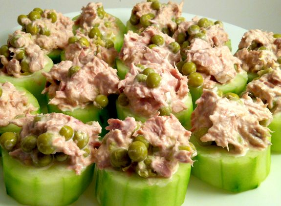 These Tuna Cucumber snacks require no baking and can help prevent many types of cancers and disease!