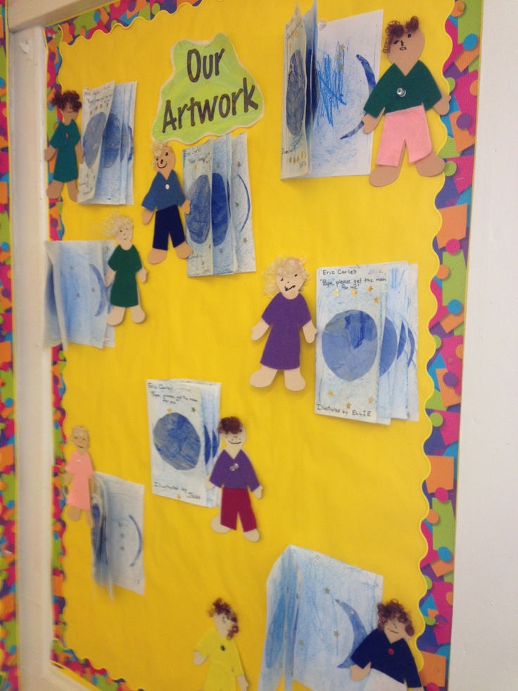 17 best images about eric carle on pinterest author for Eric carle mural