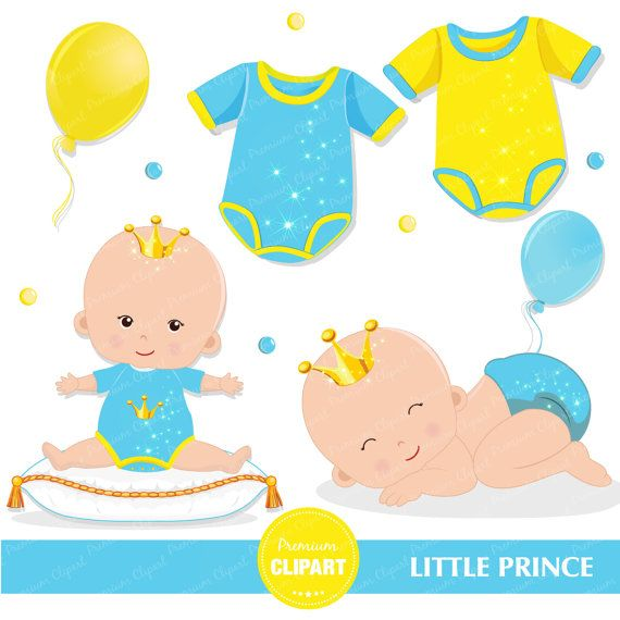 Baby Shower Clipart Baby Prince Clipart Prince Baby Clip