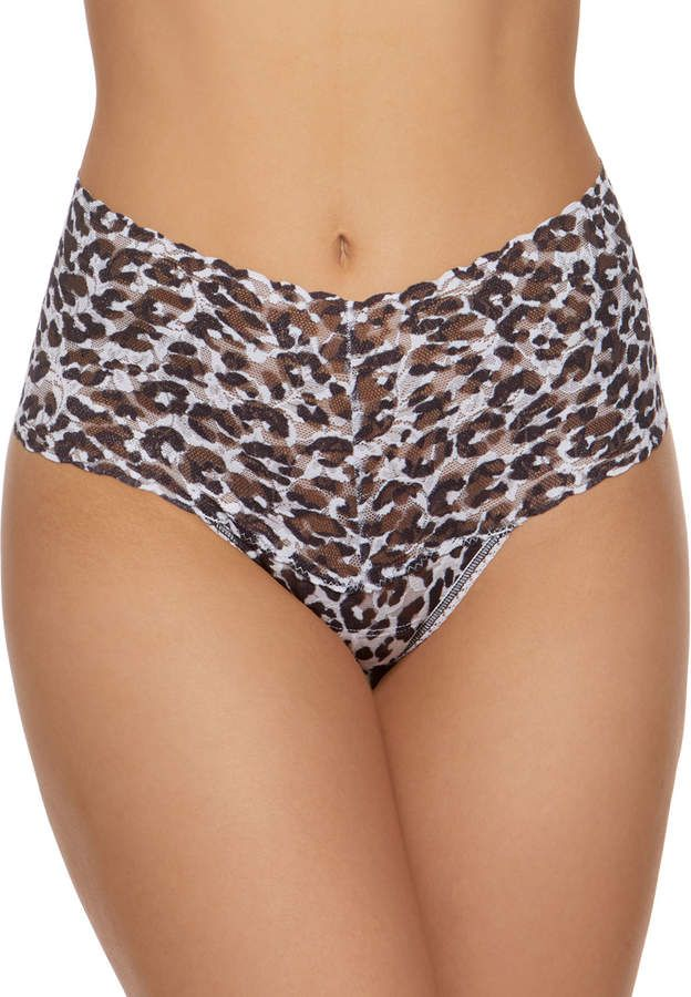 2f501c92a89c Hanky Panky Copycat Leopard Lace Retro Thong in 2019 | Products ...