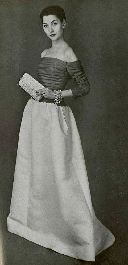 1956 - Balenciaga gown
