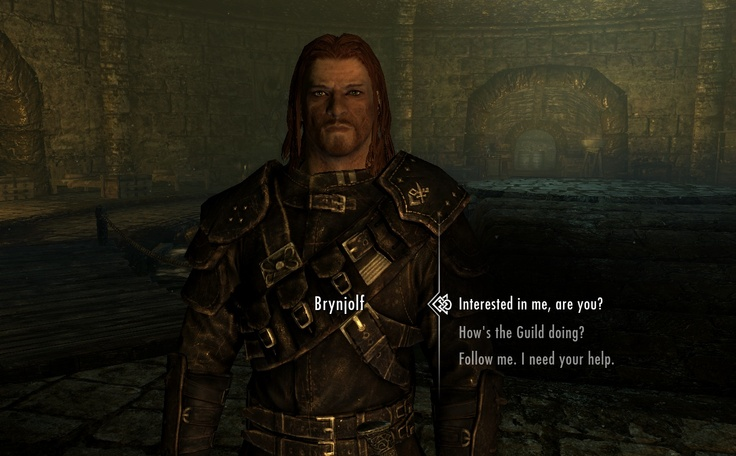 YES Brynjolf is marriable and can be a follower.