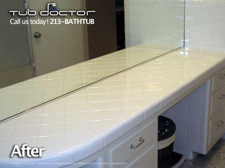 Vanity  Tub Reglazing  Bathtub Refinishing   Tub Resurfacing   Tub Repair   Los Angeles, Orange County, Ventura, Santa Barbara, 213(BATHTUB)