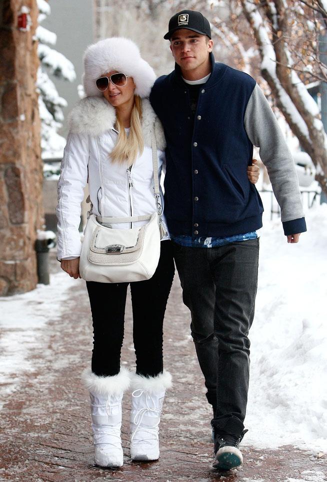 La tenue de ski de Paris Hilton à Aspen