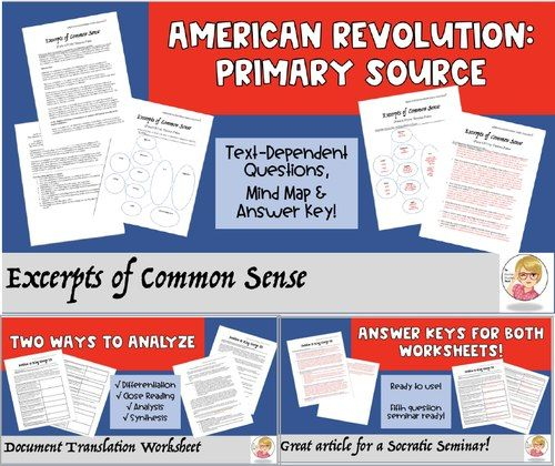 analysis primary sources activity answer key