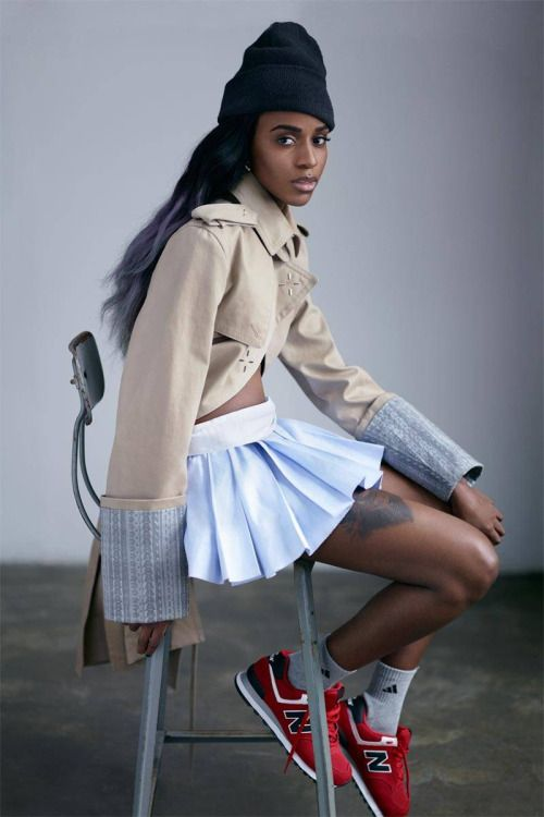 unstablefragments:  Angel Haze + New Balance