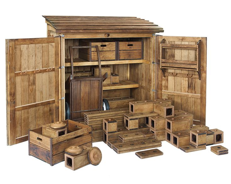 The Big Outlast Set delivers all the benefits of open-ended block play — in wood that will last.