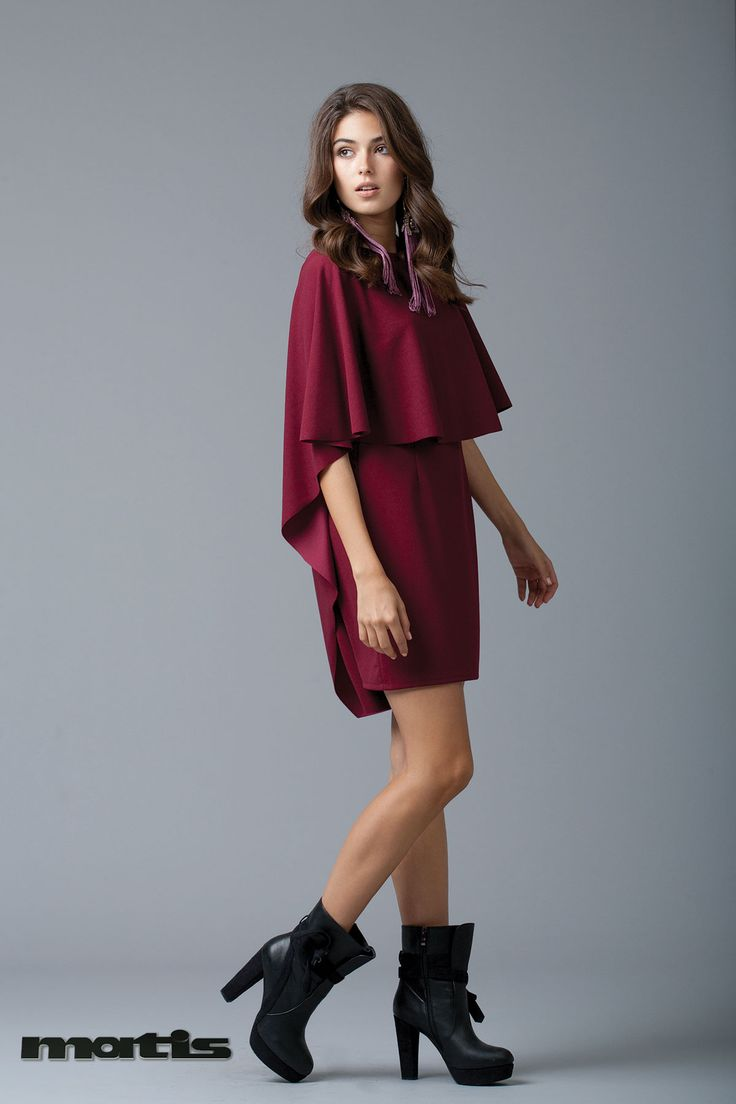 Burgundy shade for your night out dress!