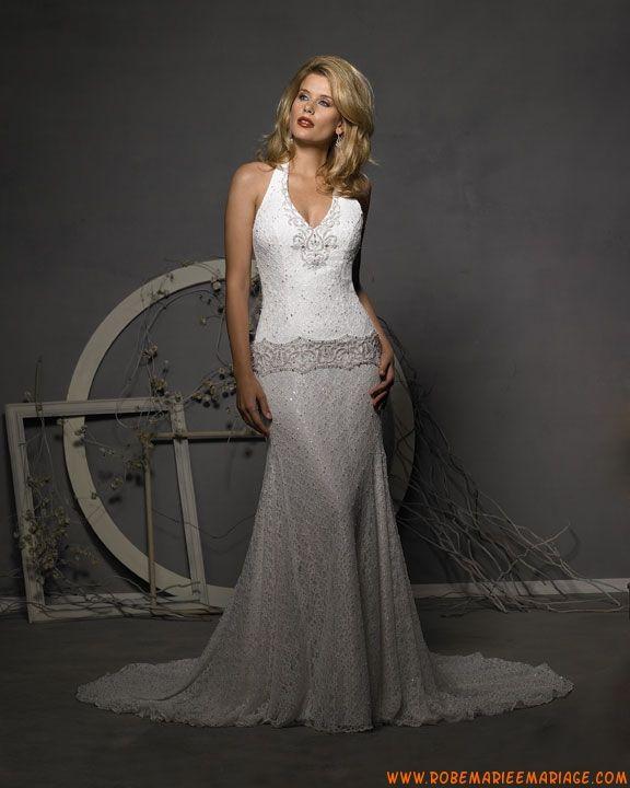 ... de broderies et de paillettes robe de mariée dentelle  robes de